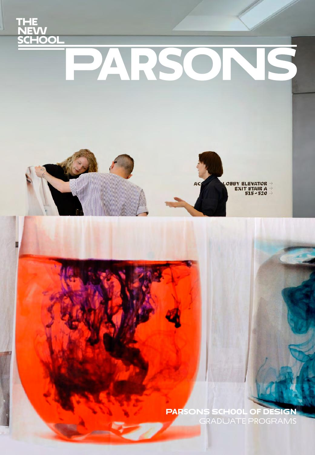 2015 Parsons Graduate Catalog By The New School