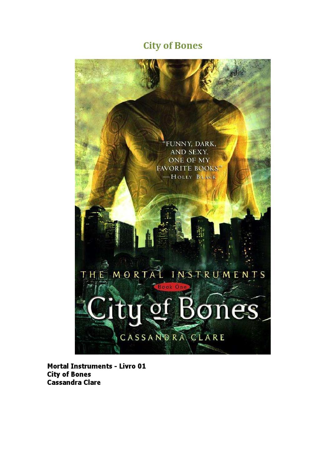 8fd631814a Os instrumentos mortais 01 cidade dos ossos by Kelly Stin - issuu