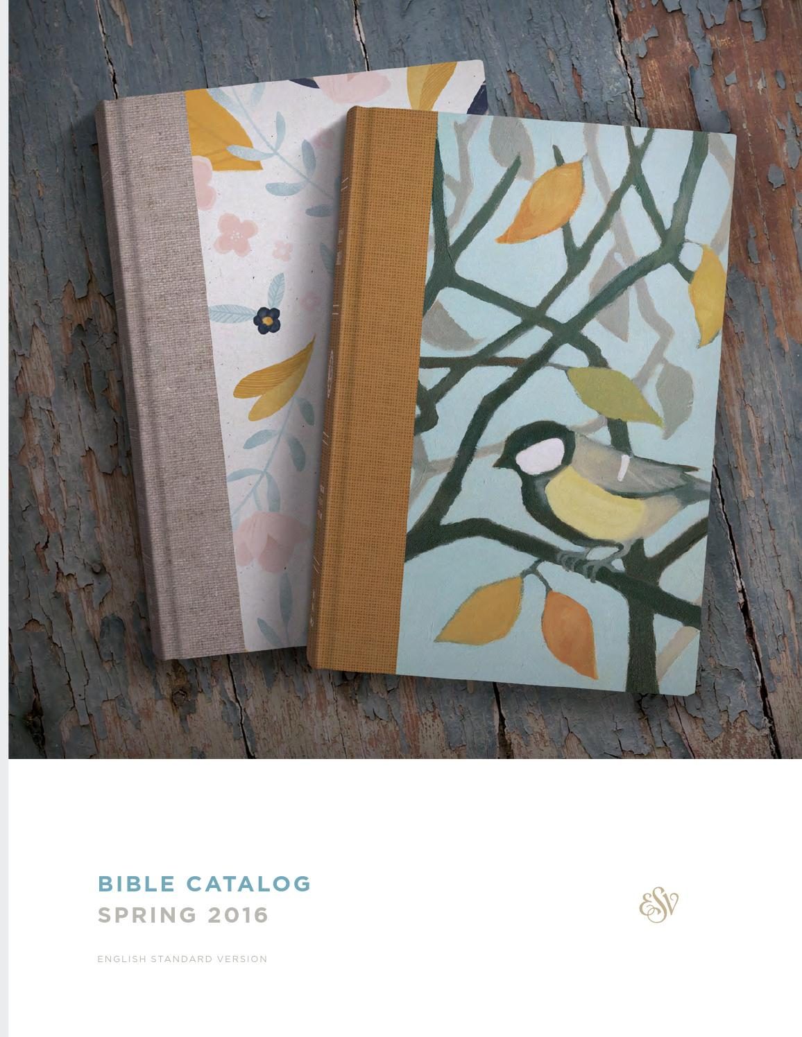 Esv spring 2016 bible catalog by crossway issuu for Garden design bible