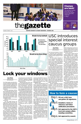 Thursday october 1 2015 by western gazette issuu page 1 malvernweather Gallery