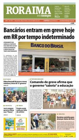 Jornal roraima em tempo – edição 158 – período de visualização ... 54ca8702830e5