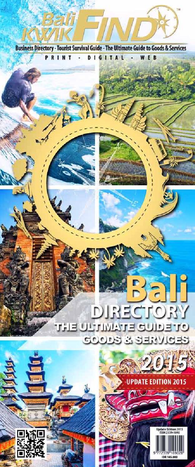 Bali kwikfind 2015 by Bali Kwikfind - issuu