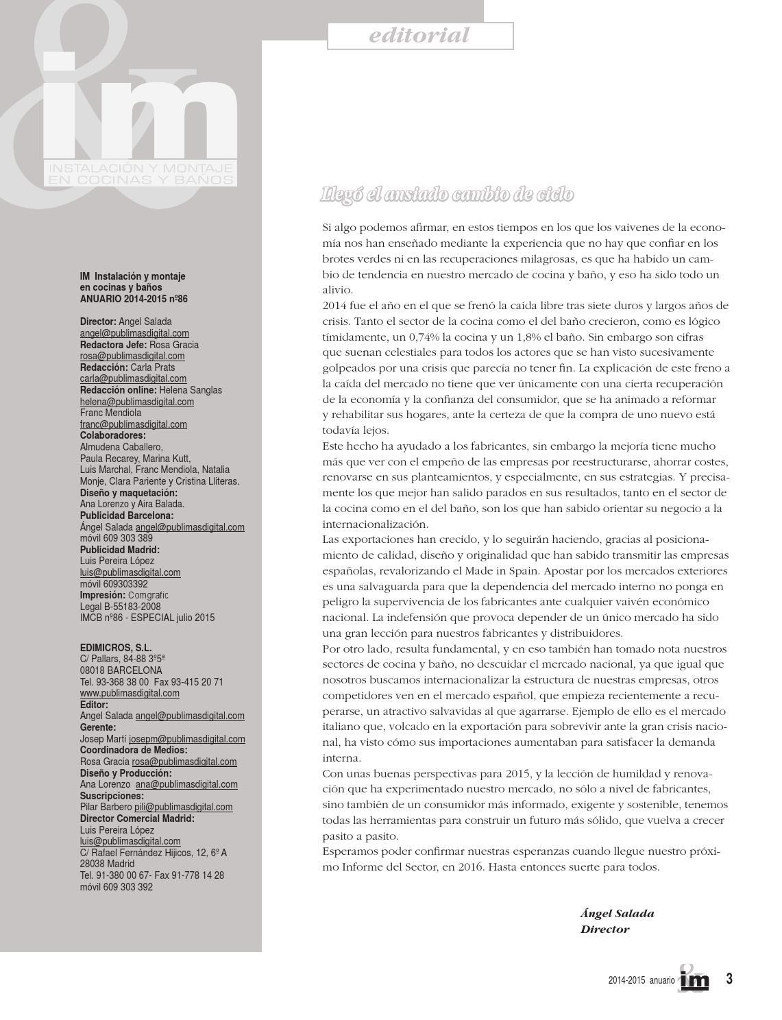 IMCB Cocinas y Baños #86 by Grupo Edimicros - Publimas Digital - issuu