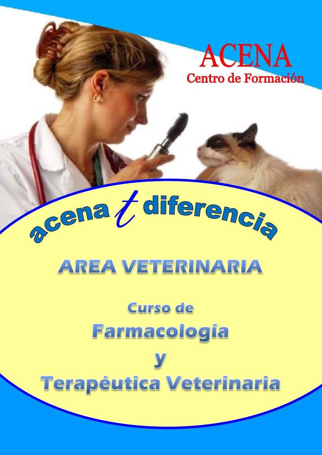 Farmacología Terapéutica Veterinaria By Acena Centro Issuu