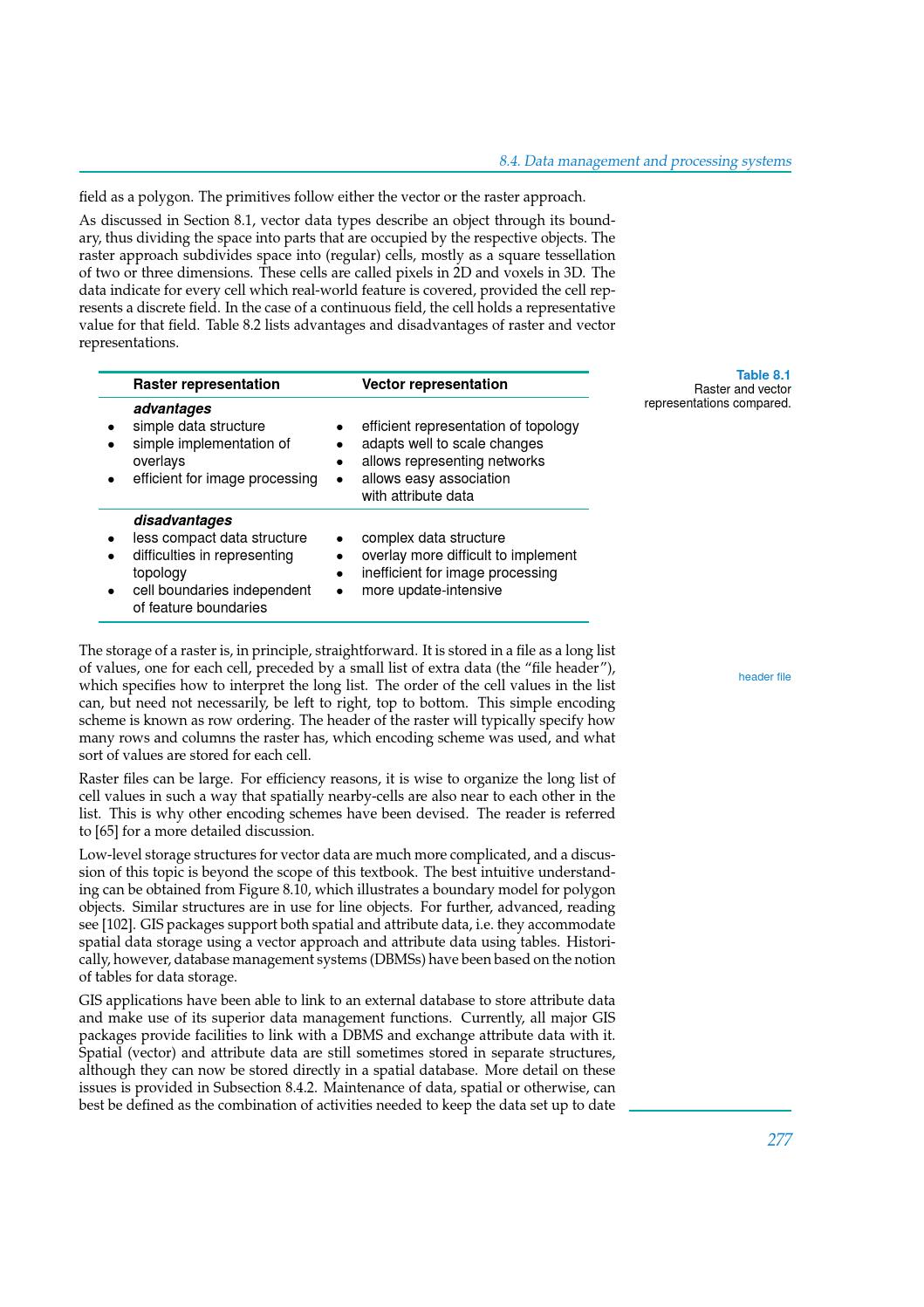 ITC Corebook 2013 - Chapter 08 - Spatial data modelling by The