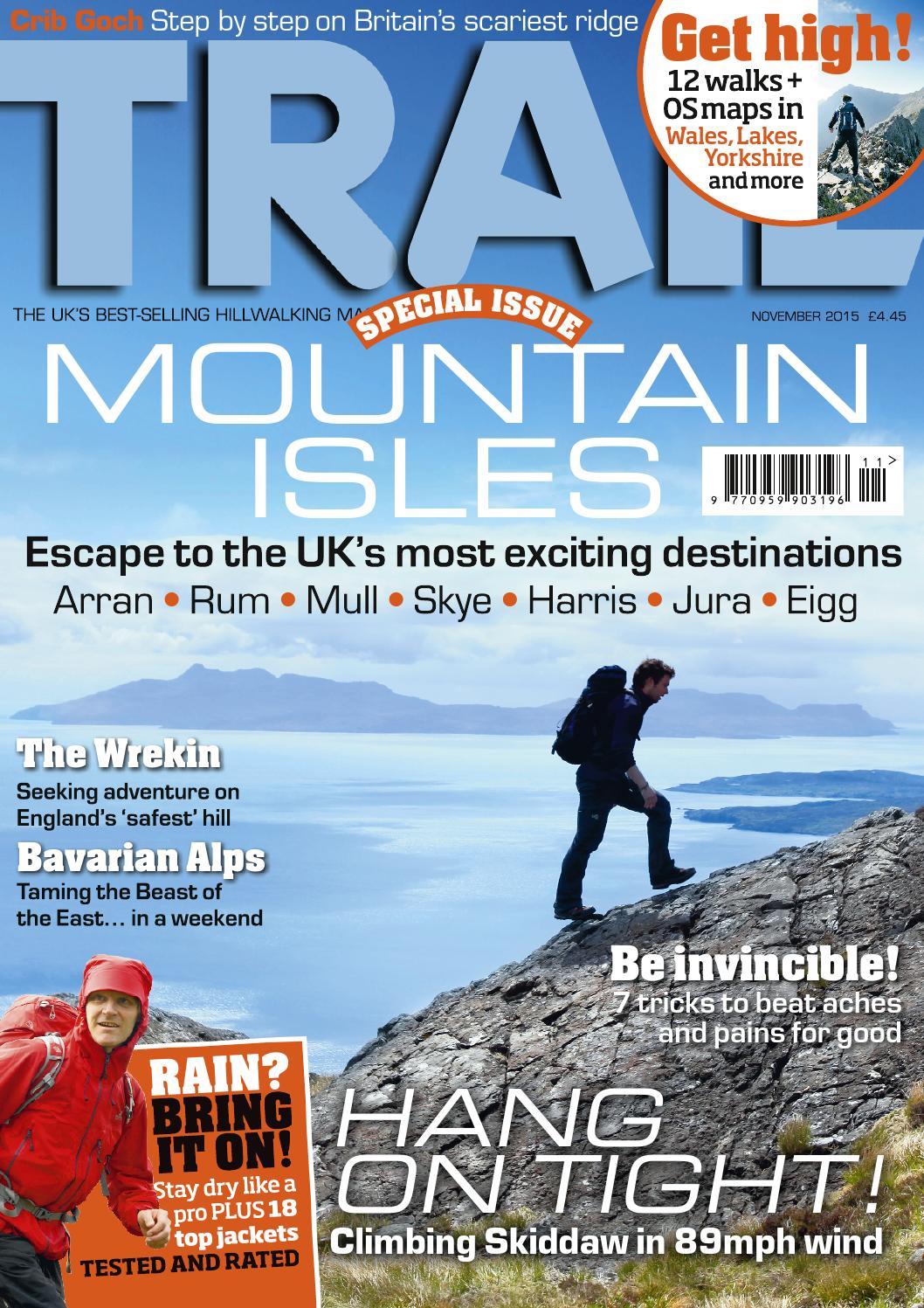 Trail magazine - November 2017 (BRAND NEW/SEALED)