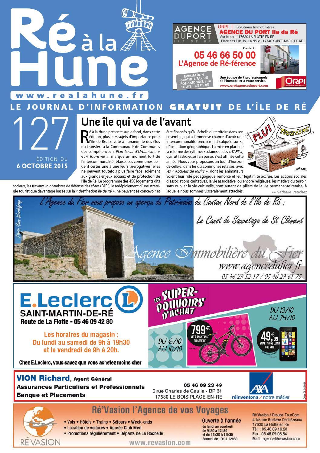 Ré à La Hune N 127 By Rhea Marketing Issuu