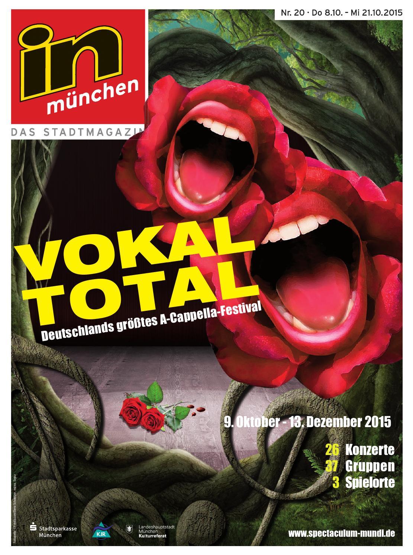 In Mnchen Ausgabe 20 2015 By InMagazin Verlags GmbH