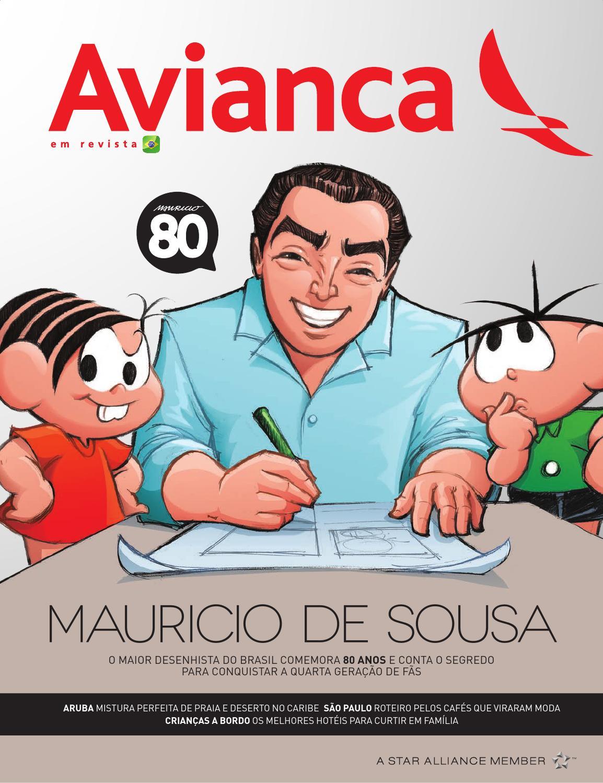 63 - Mauricio de Sousa by Media Onboard - issuu 72957e672d2