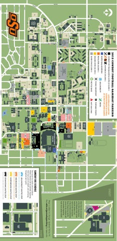 2015 POSSE Football Parking Map by Oklahoma State - issuu