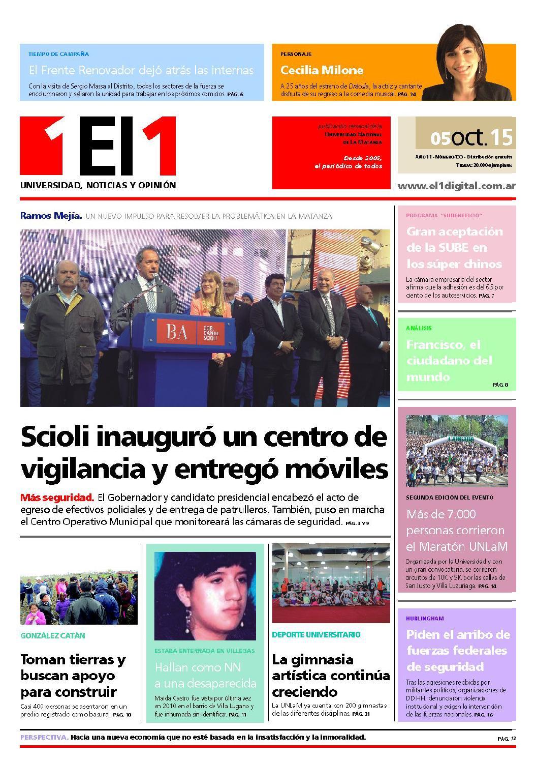 Edición Nº 433 by Periódico El1 - issuu 2a24d28e3a9e3