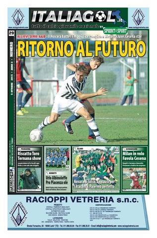 ITALIAGOL - TUTTO IL CALCIO GIOVANILE NAZIONALE - NR. 5 2014 by InfoPress -  issuu 0a840be99f23