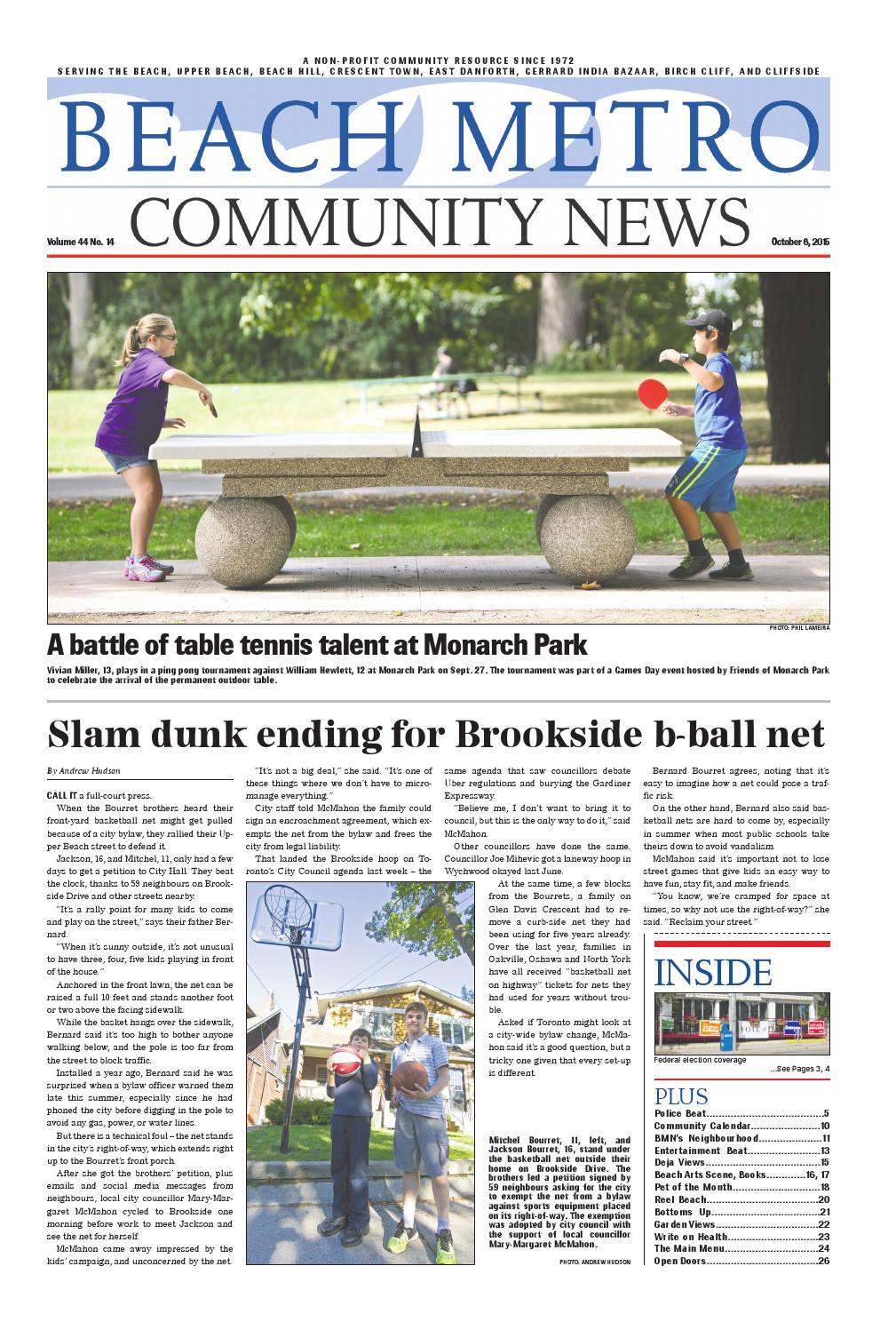 Beach Metro News – Oct 6, 2015 by Beach Metro News - issuu