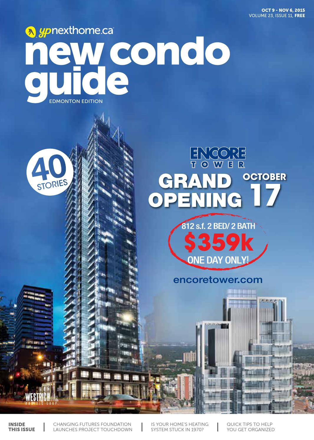 Edmonton New Condo Guide - Oct 9, 2015 by NextHome - issuu