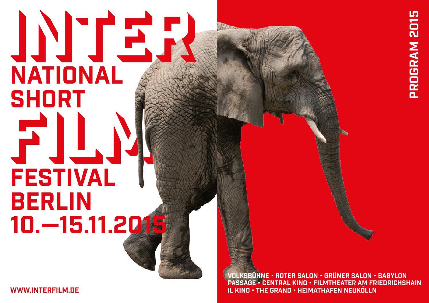 31. International Shortfilmfestival Berlin by interfilm Berlin - issuu