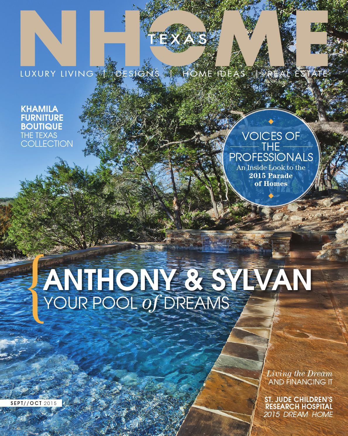 Nhome Texas Magazine Sept Oct 2015 By Nhome Texas Issuu