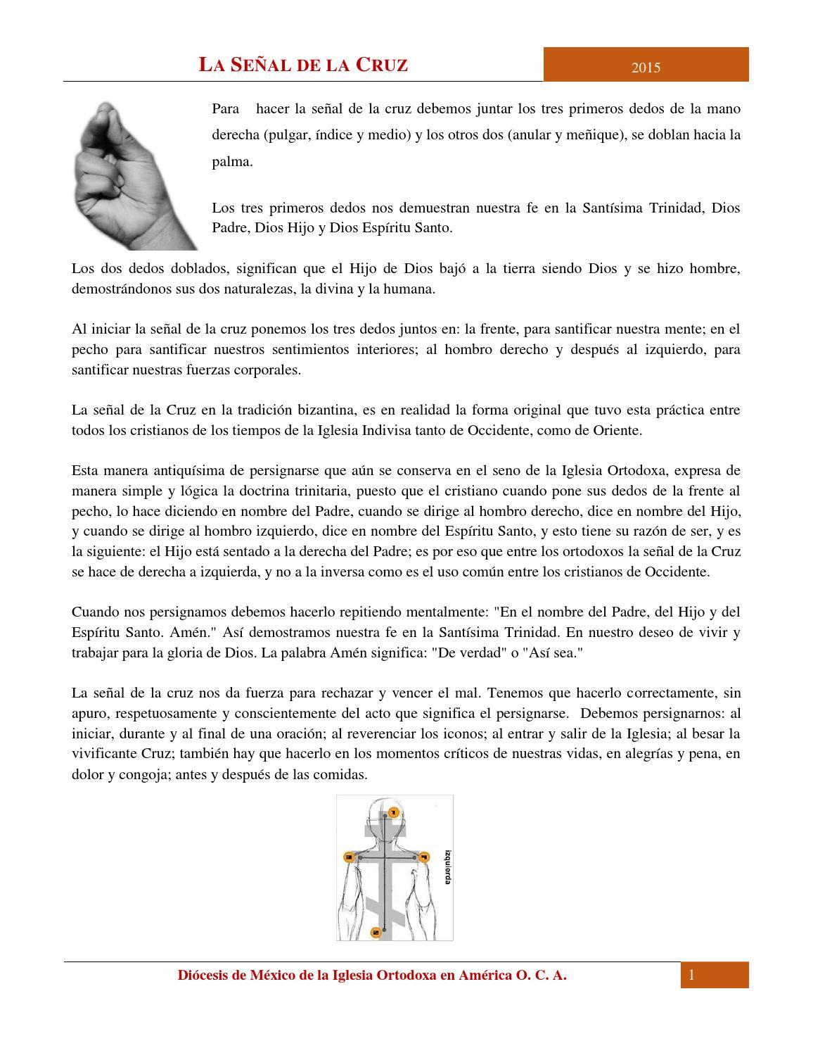 La Señal De La Cruz By Oca México Issuu