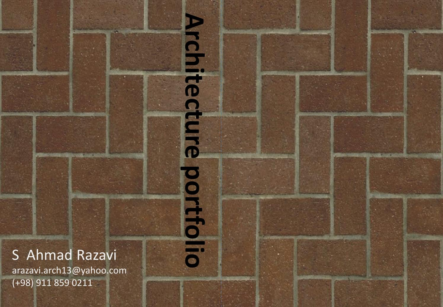 Architecture portfolio by Ahmad Razavi - issuu