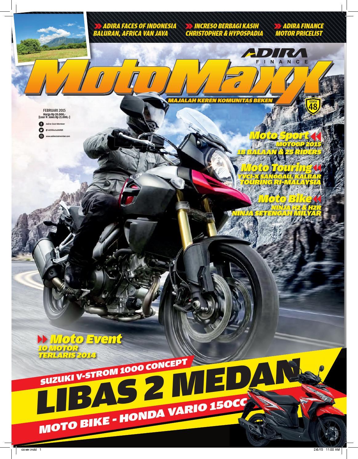 Motomaxx 02 2015 By Adira Member Issuu Yamaha Fino 125 Grande Otr Jabodetabek Banten Biru