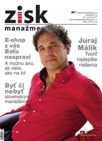 ed6971038349 Zisk manažment 8 2015 by VBoban - issuu