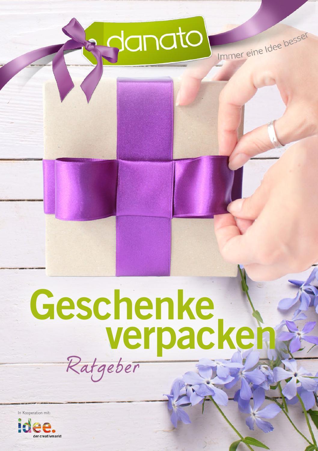 Geschenke verpacken Ratgeber von DANATO by DANATO - issuu