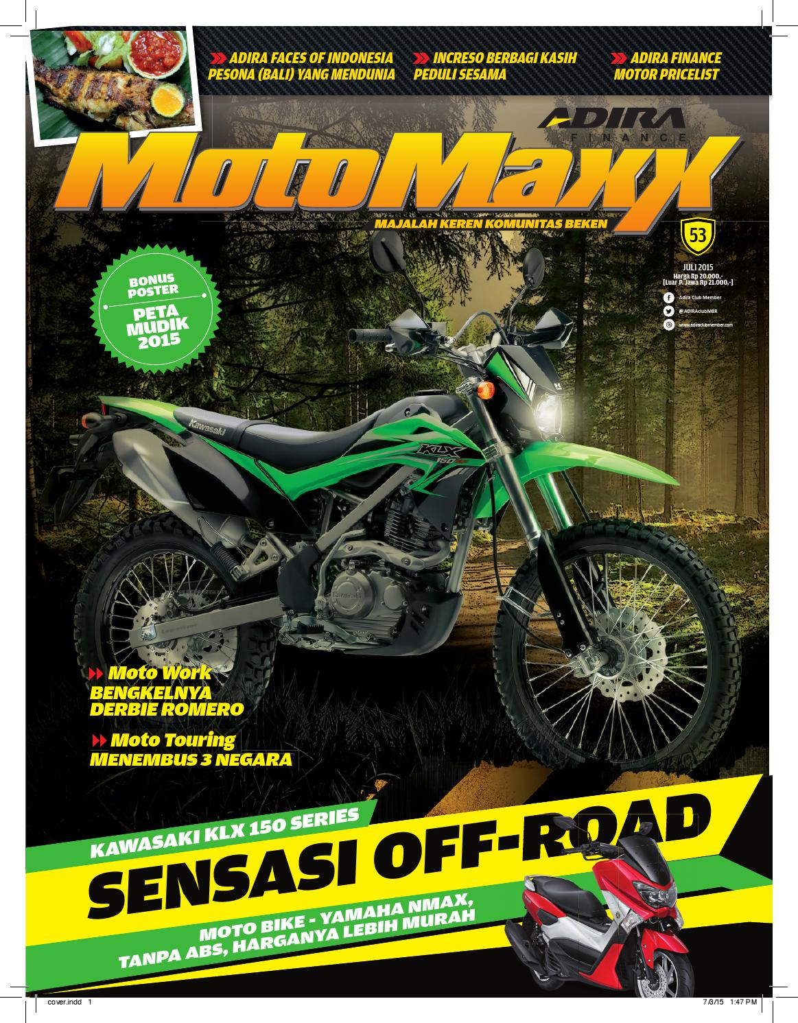 Motomaxx 07 2015 By Adira Member Issuu New Vario 125 Esp Cbs Titanium Black Sragen