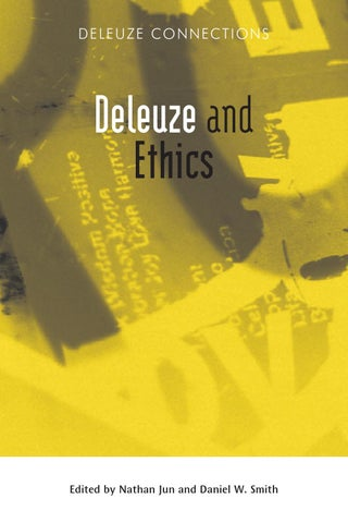 daniel smith essays on deleuze Essays on deleuze and over one million other books are available for amazon kindle learn more.