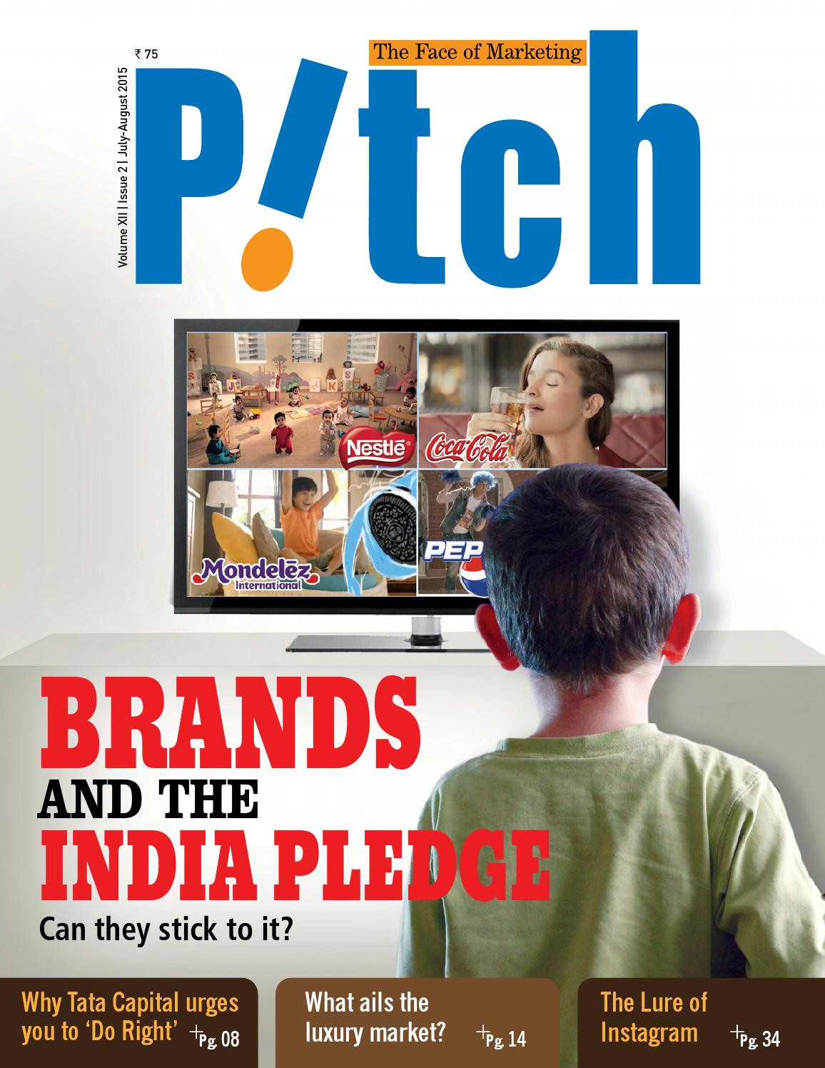 BRANDS AND THE INDIA PLEDGE by Adsert Web Solutions - issuu