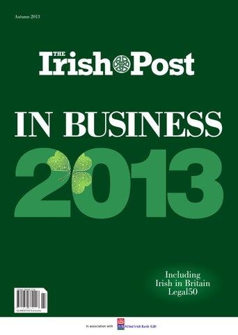 InBusiness 2013 by The Irish Post - issuu 15217bd2d