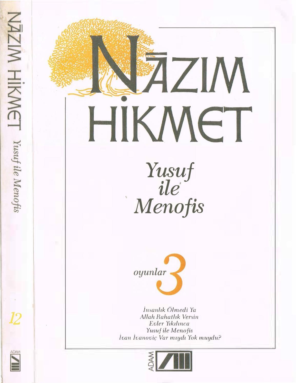 Nazım Hikmet 12 Yusuf Ile Menofis Adam Yayınları By Hasan öztürk Issuu