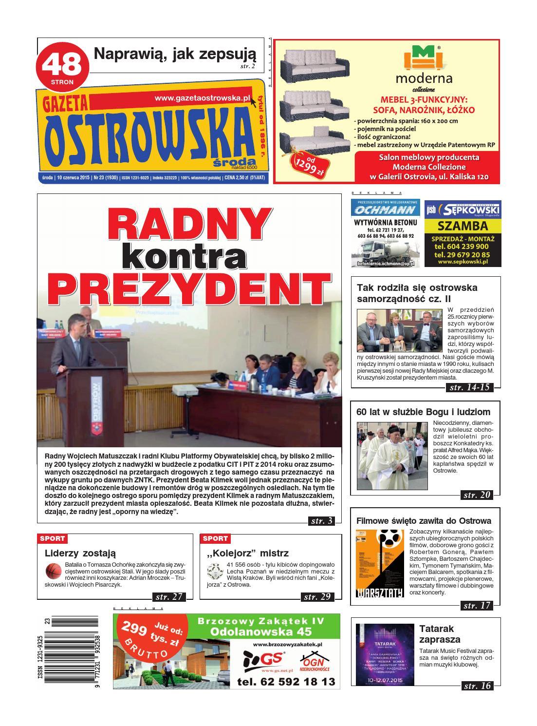 2da53b7c3 Go 23 2015 by Gazeta Ostrowska - issuu