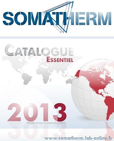 ÉquipementSomatherm Catalogue Essentiel 2013partie Catalogue By 0OPnwk8