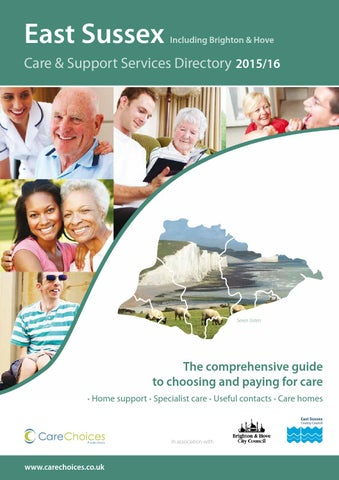 East Sussex Care Support Services Directory 2015 16 Including Brighton