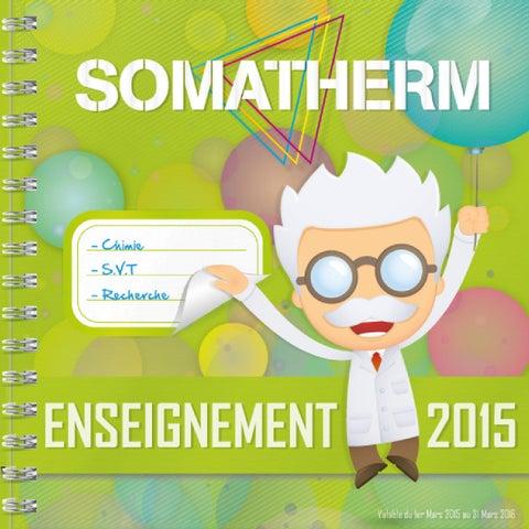 Catalogue issuu by SOMATHERM SOMATHERM 2015 enseignement u13TlKFcJ