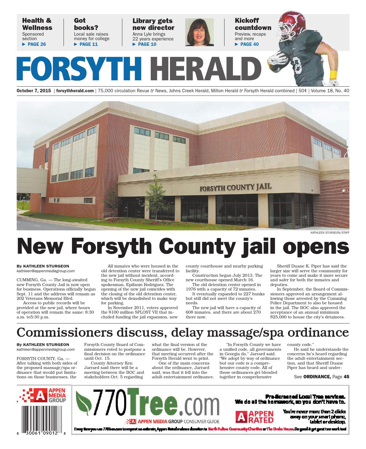 Forsyth herald october 07 2015 by appen media group issuu fandeluxe Choice Image