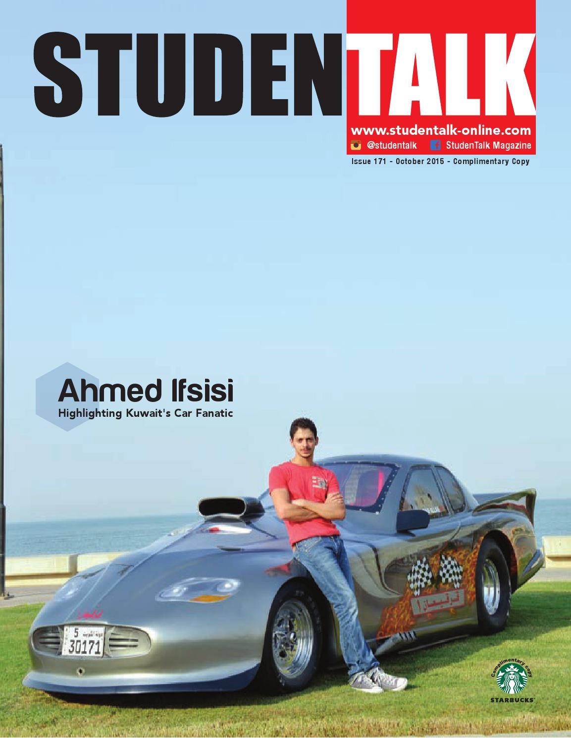 StudenTalk #171 - October 2015 by StudentTalk - issuu