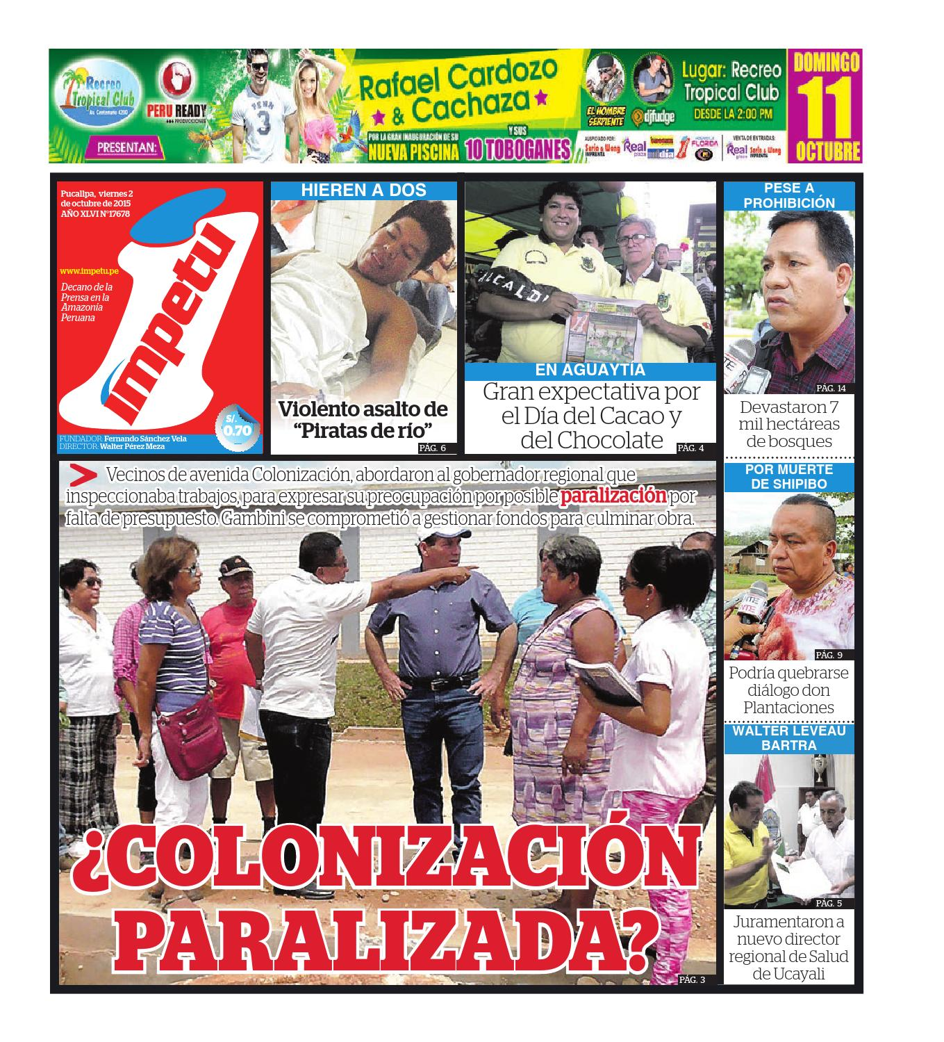 Impetu 2 de octubre de 2015 by Diario Ímpetu - issuu