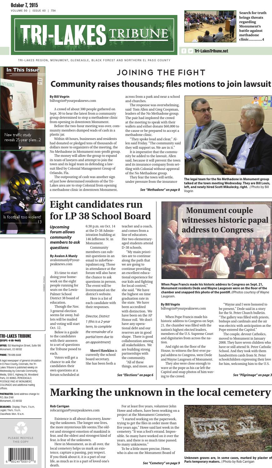 oct 7 2015 tribune by pikes peak newspapers inc issuu rh issuu com