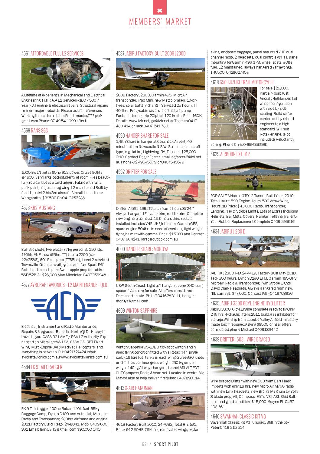 Sport pilot 50 oct 2015 by Recreational Aviation Australia