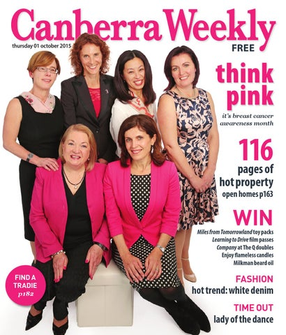b8c2faa63e9eb 01 October 2015 by Canberra Weekly Magazine - issuu
