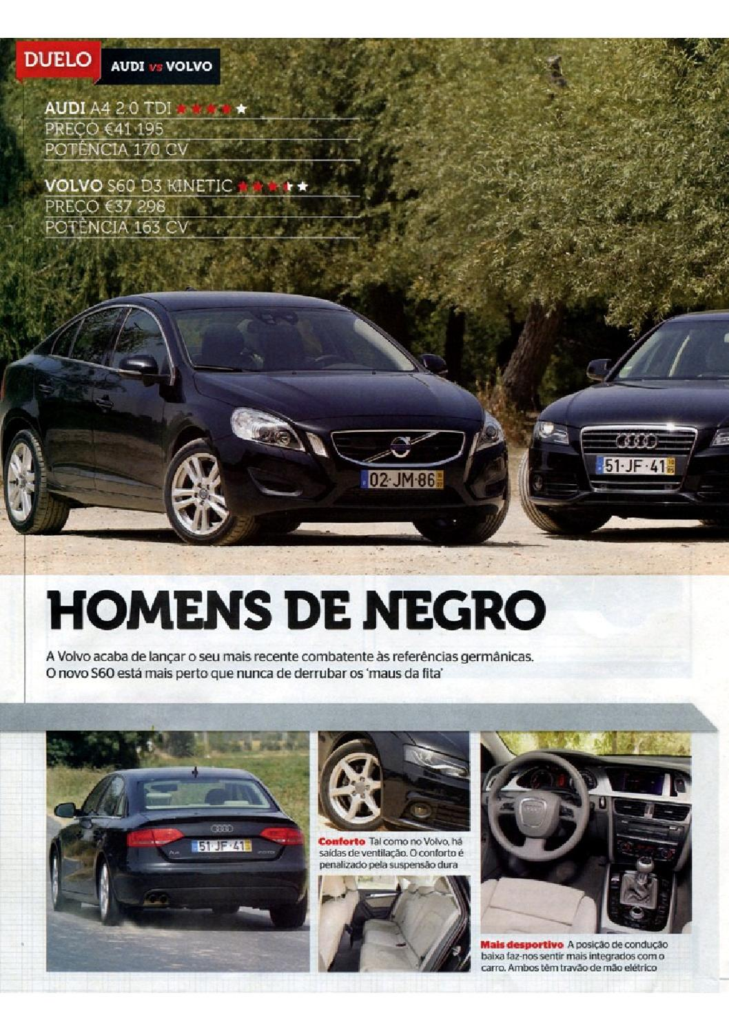 S60 A4 Volante Set2010 Pt By Myvolvo Library Issuu