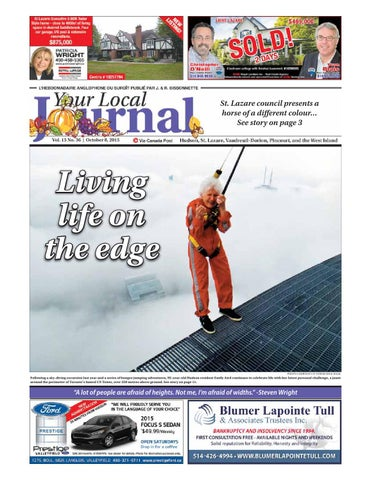 39329adf7 Your Local Journal - October 8, 2015 by Your Local Journal - issuu