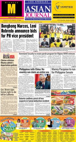 LA Midweek Edition October 07 09 2015 by Asian