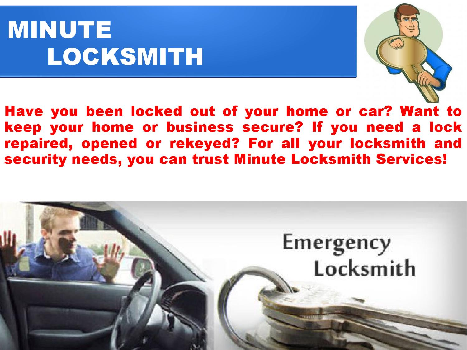 24 hour emergency locksmith services in kitchener waterloo by Minute ...