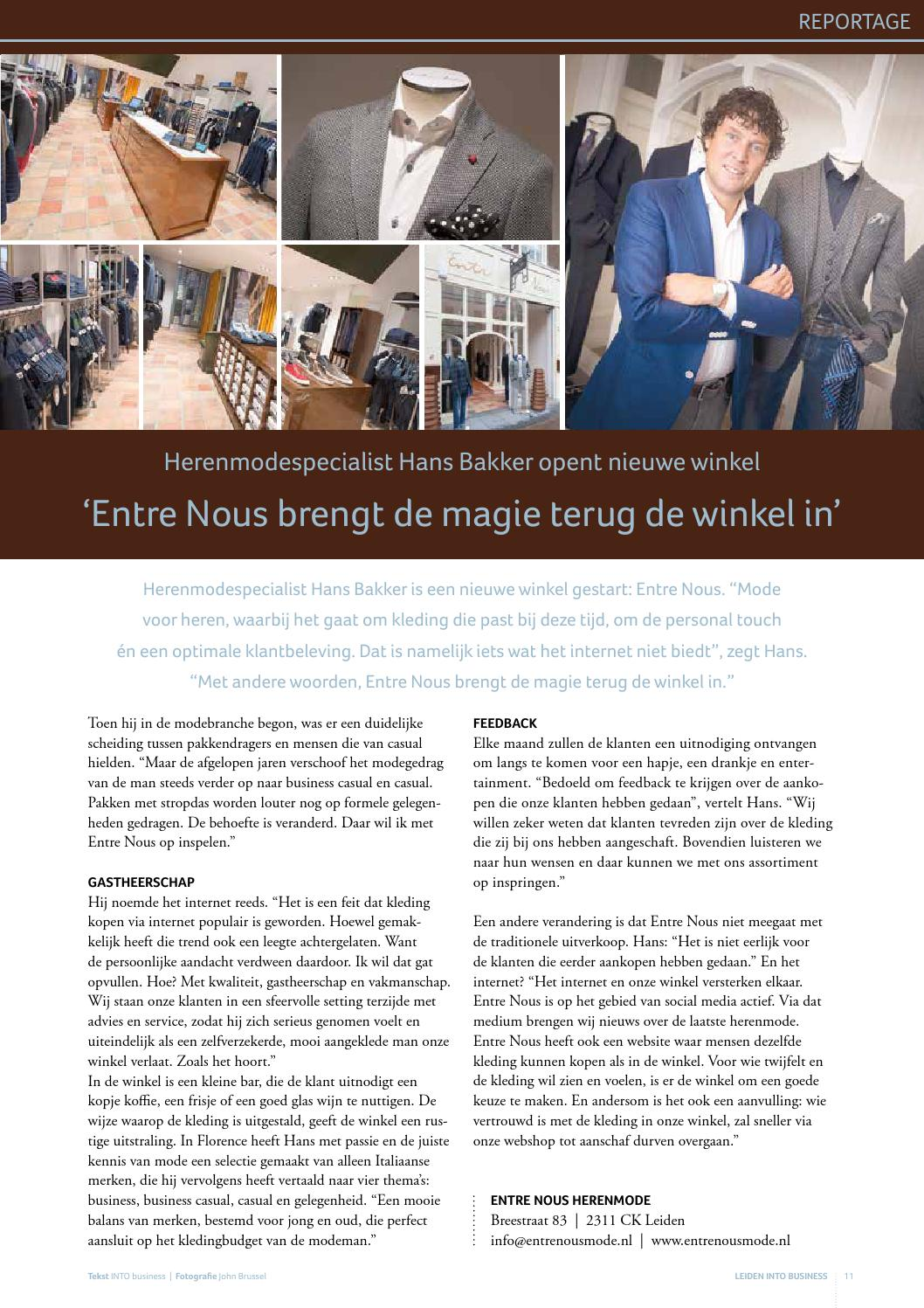 Internet Winkels Kleding.Leiden Into Business Herfst 2015 By Into Business Issuu
