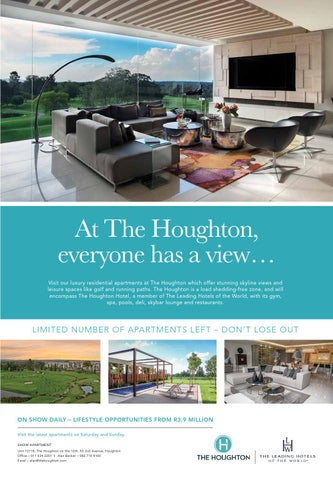 At The Houghton Everyone Has A View Visit Our Luxury Residential Apartments Which Offer Stunning Skyline Views And Leisure Spaces Like