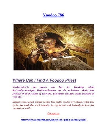 Where can i find a voodoo priest by Priya Agrawal - issuu