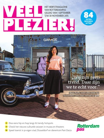 dce0cd26be0 Veel Plezier! Herfst 2015 by Rotterdampas - issuu