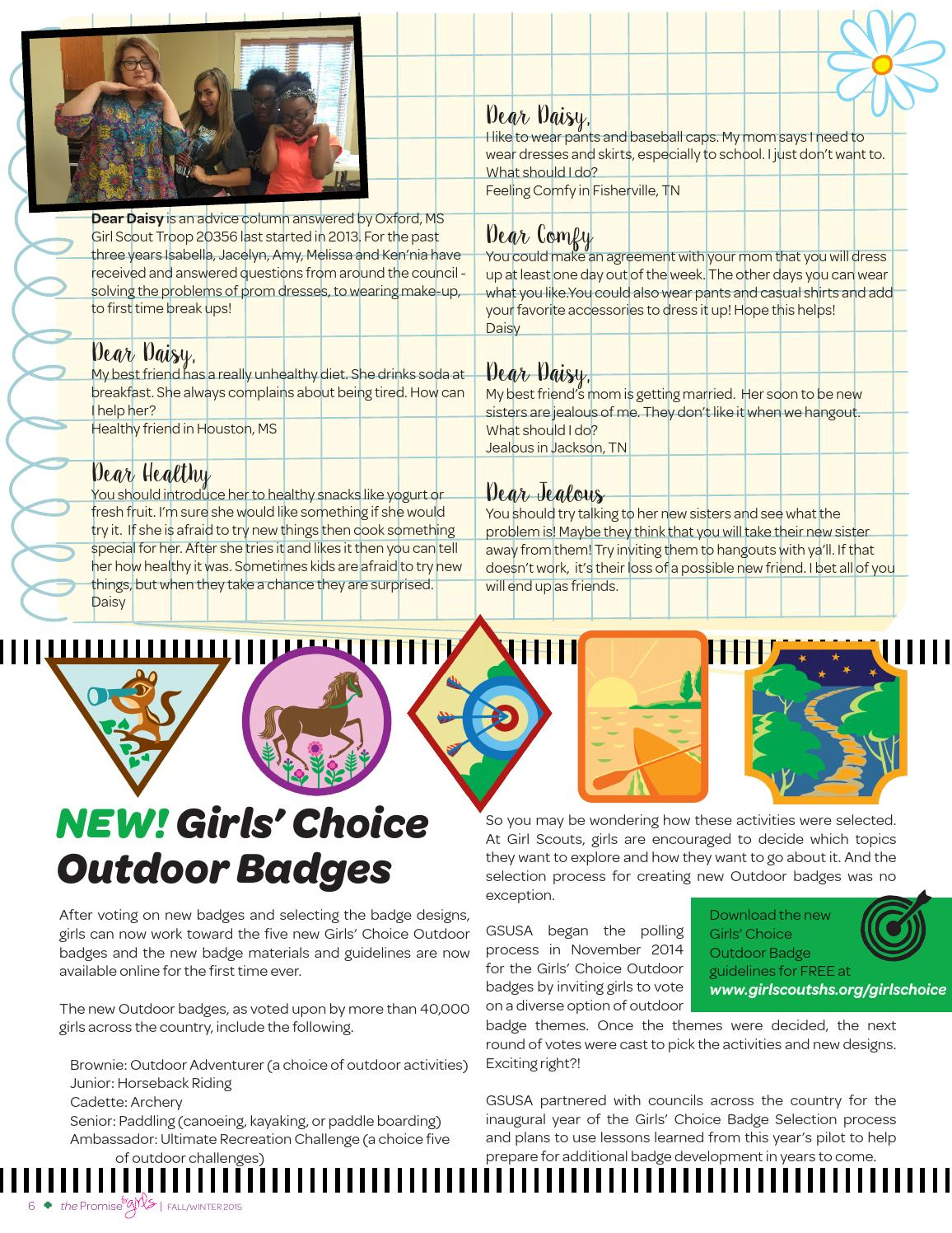 Girl Scouts Heart of the South: The Promise - For Girls