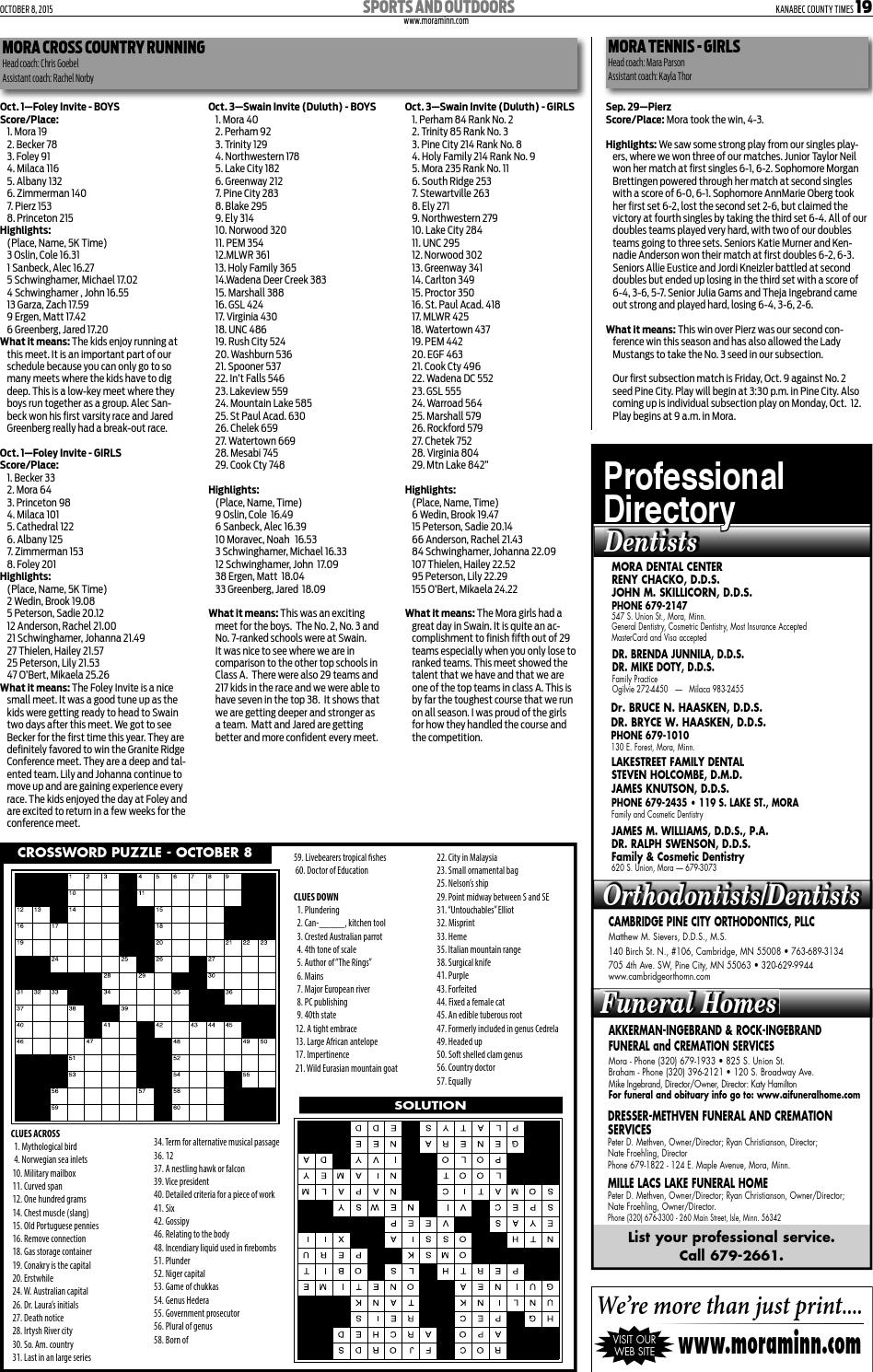Kanabec County Times Oct 8 2017 E